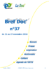 Bref Doc' n°37 du 21 au 27 novembre 2016 - application/pdf