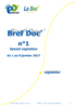 Bref Doc' n°1 spécial législation du 2 au 8 janvier 2017 - application/pdf