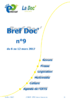 Bref Doc' n°9 du 6 au 12 mars 2017 - application/pdf
