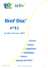 Bref Doc' n°11 du 20 au 26 mars 2017 - application/pdf